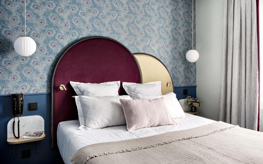 Hôtel Léopold Paris - Chambre